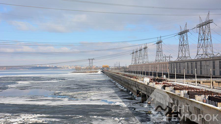 Жигулевская ГЭС март 2018